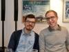Hendrik Pakosta ja Paul-Mattis Türnpuu. Kursusekaasalased Tartu Ülikoolist